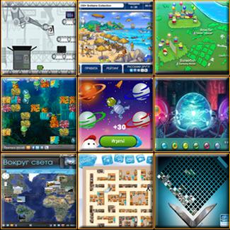 Разработка брендированных flash-игр, разработка промо игр.