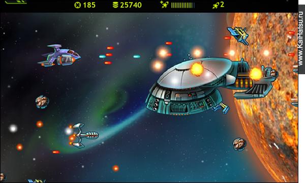 Разработка игры SpaceRace