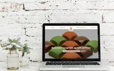 Создание сайта каталога на WordPress для бутика шоколадных изделий ручной работы